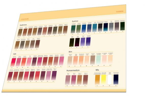 Farbkarte FEELGOOD Colours/Farben