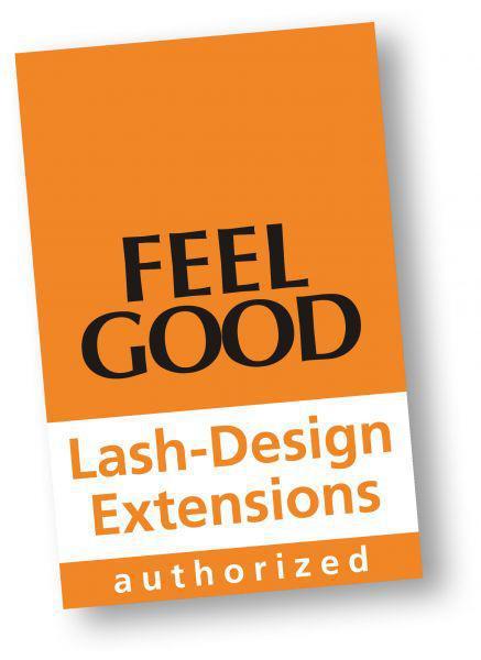 Tür-/Schaufensteraufkleber Lash-Design Extensions