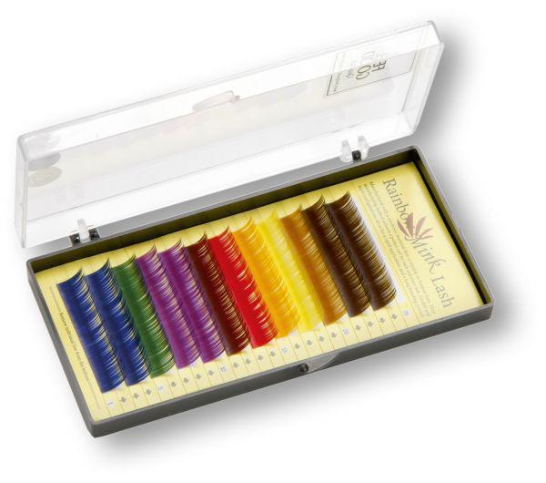 FEELGOOD Rainbow Mink Lashes colour