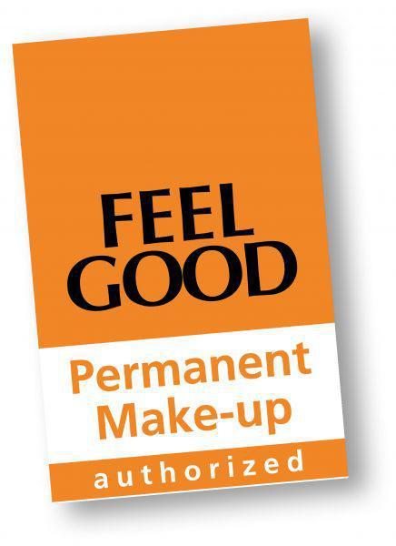 Tür-/Schaufensteraufkleber Permanent Make-up 21 x 30 cm